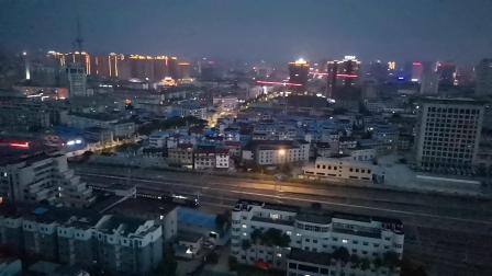 20200609 202109 阳安线客车K257次列车进汉中站