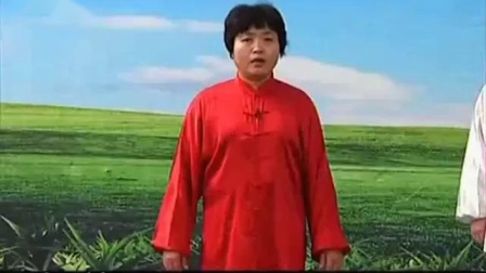 16)郑冬霞陈氏太极拳精要十八式 第15式 转身双摆莲