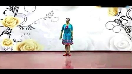 応子广场舞黄玫瑰(新版)正反面含教学  江西灵动飞舞队  团队正面  太极拳网