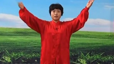 19)郑冬霞陈氏太极拳精要十八式 第18式 收势