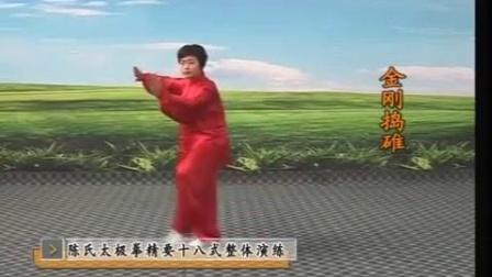 20)郑冬霞.陈氏太极拳精要十八式 全套演练