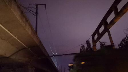 20200610 205347 西成高铁G349次列车进汉中站