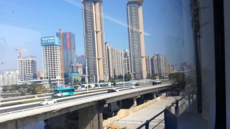 〖珠机城际一期〗C7758终到进珠海站(左侧车窗)