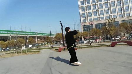 徐老师演示太极莲花扇原创视频