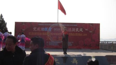 2020.12.31安康天姿艺术团参加江北文化站在李家嘴庆元旦演出:在希望的田野上