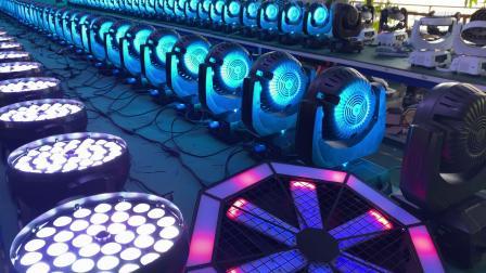 酒吧灯光经典的LED摇头灯