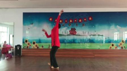 朱老师舞蹈系列······《蓝色天梦》背面