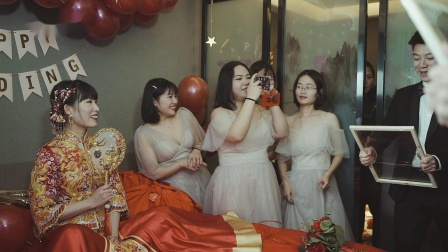 「17FILM」【嘻哈国际】夏劲松@韩梦琪 婚礼快剪