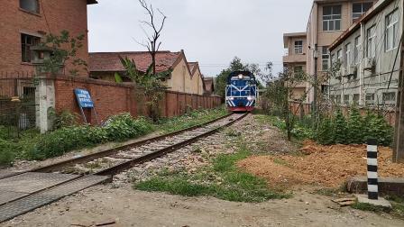 20200614 151801 汉中站油库线DF7C单机返回汉中站
