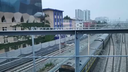 20200615 200049 阳安线客车K257次列车出汉中站