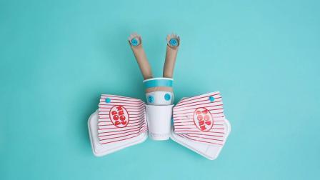 makedo-diy纸箱连接扣原装进口儿童创客STEM创意纸箱玩具节日礼物
