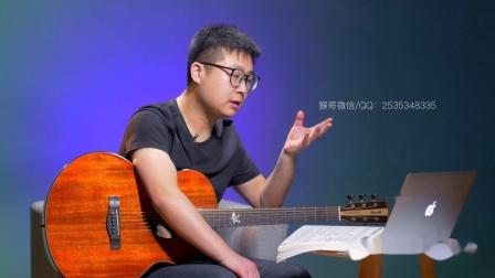 许嵩《断桥残雪》吉他谱吉他弹唱教学G调精华版 高音教