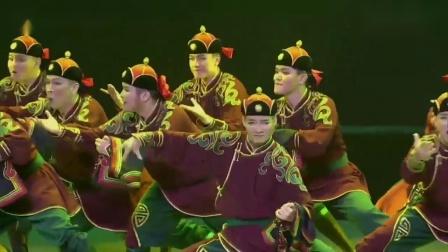 2019第十二届荷花奖舞蹈大赛成品舞群舞民族民间舞比赛视频 《黑缎子坎肩》