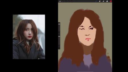 iPad绘画教程油画人像1集.mov