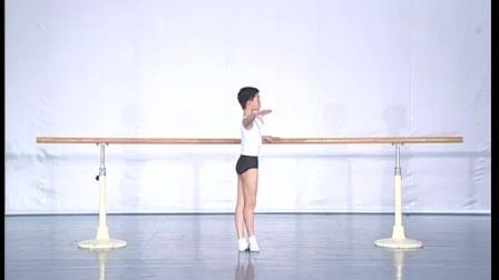 北舞附中古典舞舞蹈基础基本功示例课 男班1年级第1学期2 把上训练