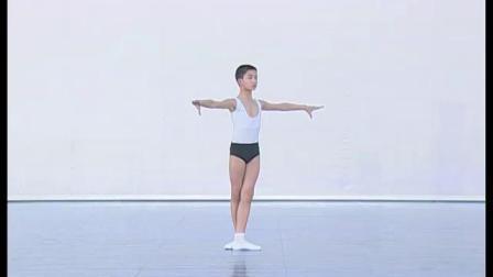 北舞附中古典舞舞蹈基础基本功示例课 男班1年级第2学期3 身韵训练