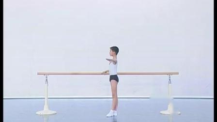 北舞附中古典舞舞蹈基础基本功示例课 男班1年级第2学期1 把上训练
