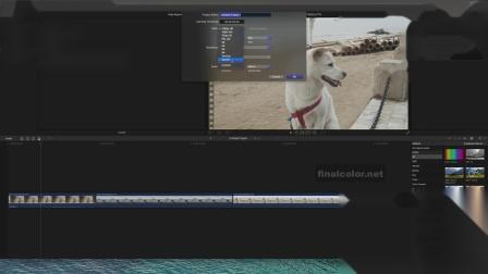 FCP横屏画面快速转换竖版画面的设置