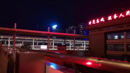 20200620 205250 西成高铁G349次列车高速通过汉中站