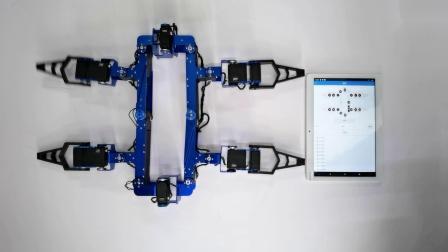 智能佳变形机器人自检测 (舵机故障排查)