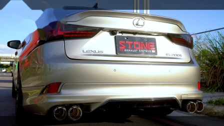Lexus XE30 IS200t  Stone Turbo-back Exhaust System