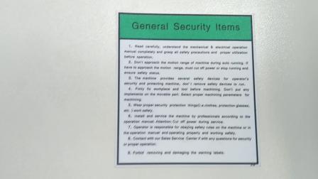 数控花键磨床-功能部件-安全注意事项