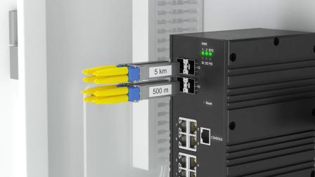 倍加福RocketLinx以太网交换机,功能全面,拥有高级安全性及网络性能