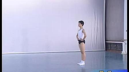 北舞附中古典舞舞蹈基础基本功示例课2年级第2学期4 技巧训练