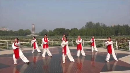 杨氏太极拳37式—青灯素月