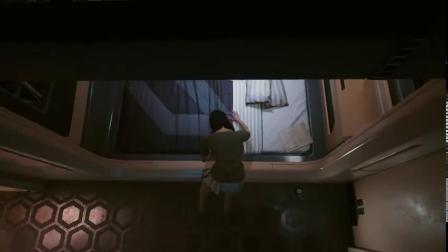 【游民星空】《赛博朋克2077》V睡觉姿势