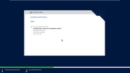 Windows Server 2016 Version 1703 Insider Preview 16237.1001安装
