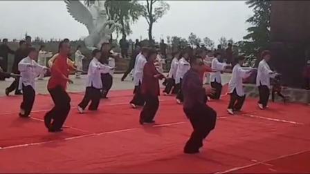 傅清泉导师在庆阳领练85式第一二节片段
