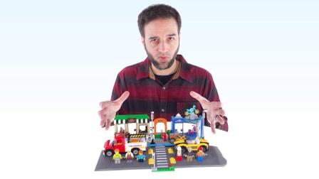 乐高60306 City Shopping Street LEGO积木砖家评测
