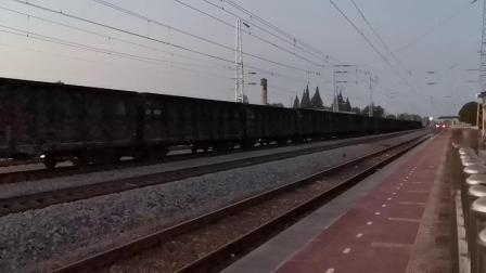20200707 202130 阳安线HXD2货列通过王家坎站