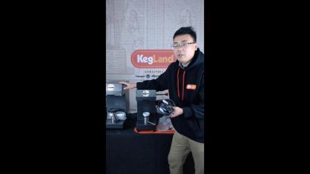 Kegland-Cannular易拉罐手动封口机和半自动封口机安装讲解