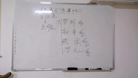 诸城中医姜光翔讲高血压的常用经方