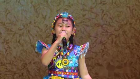 415号、王嘉晨、独唱《天边的香巴拉》 、儿童A组、选送单位:冯老师声乐艺术表演中心、指导老师:冯雪垣