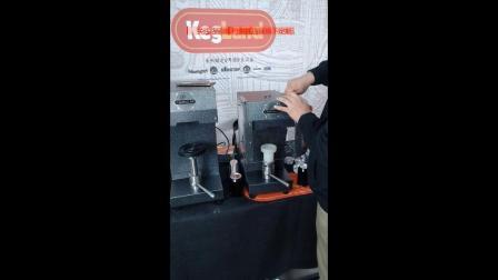 Kegland-Cannular易拉罐封口机防溅罩的安装