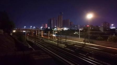20200709 205357 西成高铁G349次列车高速通过汉中站