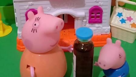 小猪乔治是个听话的孩子,听猪妈妈的话,小朋友们会给打满分
