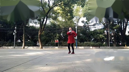 孝感晨练广场舞《你莫走》