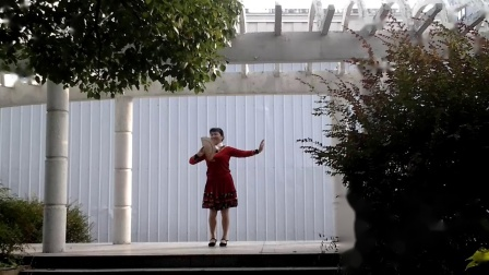 孝感晨练广场舞(香扇舞)《国色天香》(正、背面演示)