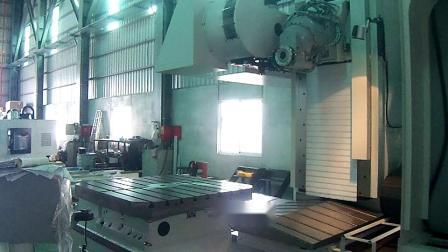 台湾新卫EUMACH-MB动柱式卧式立卧转换五面体加工中心