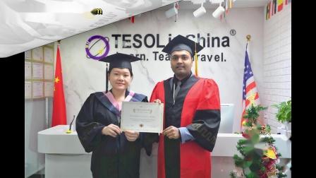 TESOL高级认证班毕业啦-泰孚教育