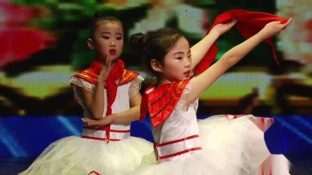 山东省青少年跨年联欢晚会-轻舞飞扬舞蹈-在阳光下成长