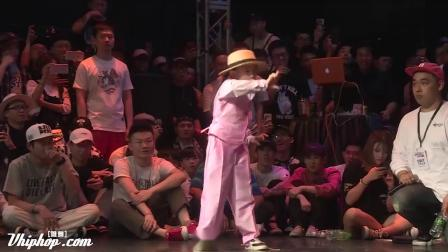 Amazing Chinese 7 Years Old Girl Popping Dance on Dance Vision vol.5 (720p)