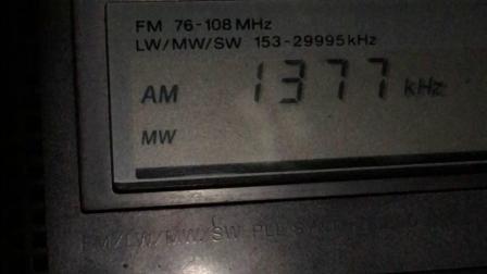 CP20:西藏人民广播电台汉语广播1377KHz-在昆明接收
