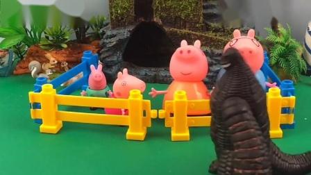 雷德王抓了小猪一家,巨人僵尸来救小猪一家,雷德王又白忙一场