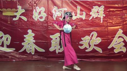 赵晓旭表演舞蹈《梨花颂》2021,1,10