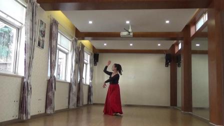 舞蹈  可可托海的牧羊人  编舞,李夏辉老师  习舞,月亮